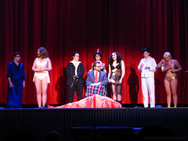 rocky horror at the rio