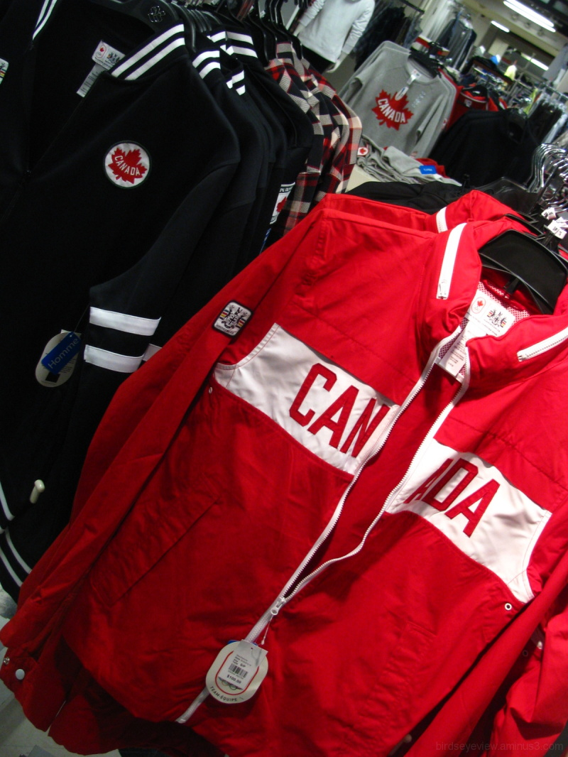 canadian pride in clothing
