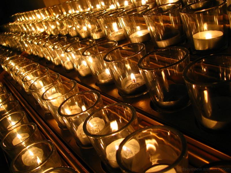 choir practice candles