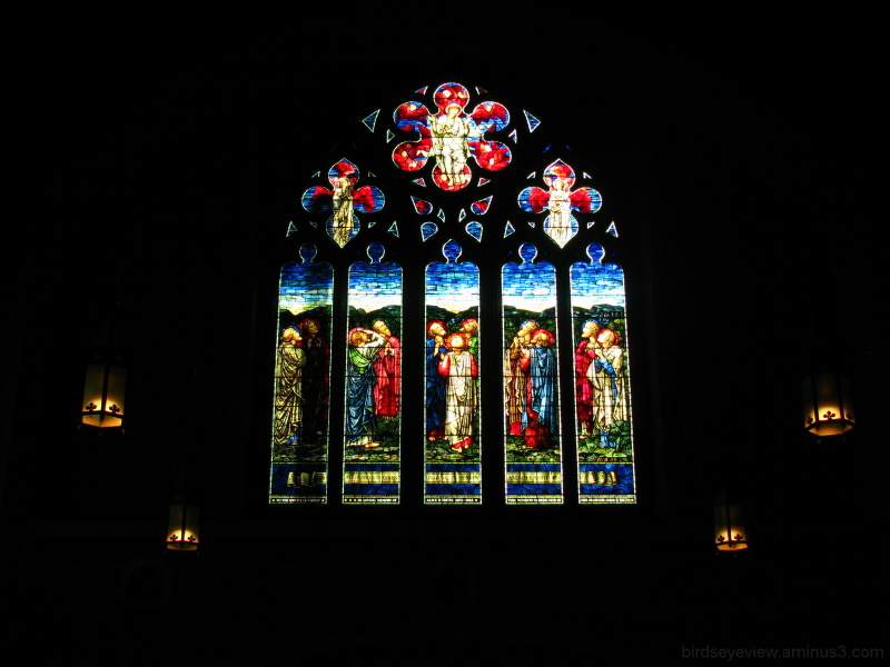 stained glass at St. Andrews-Wesley