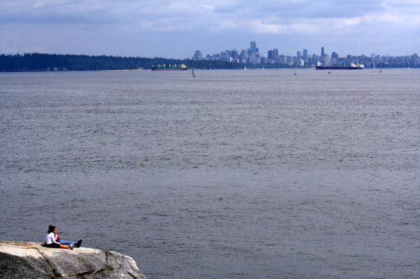 view from lighthouse park