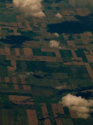 prairies from the air
