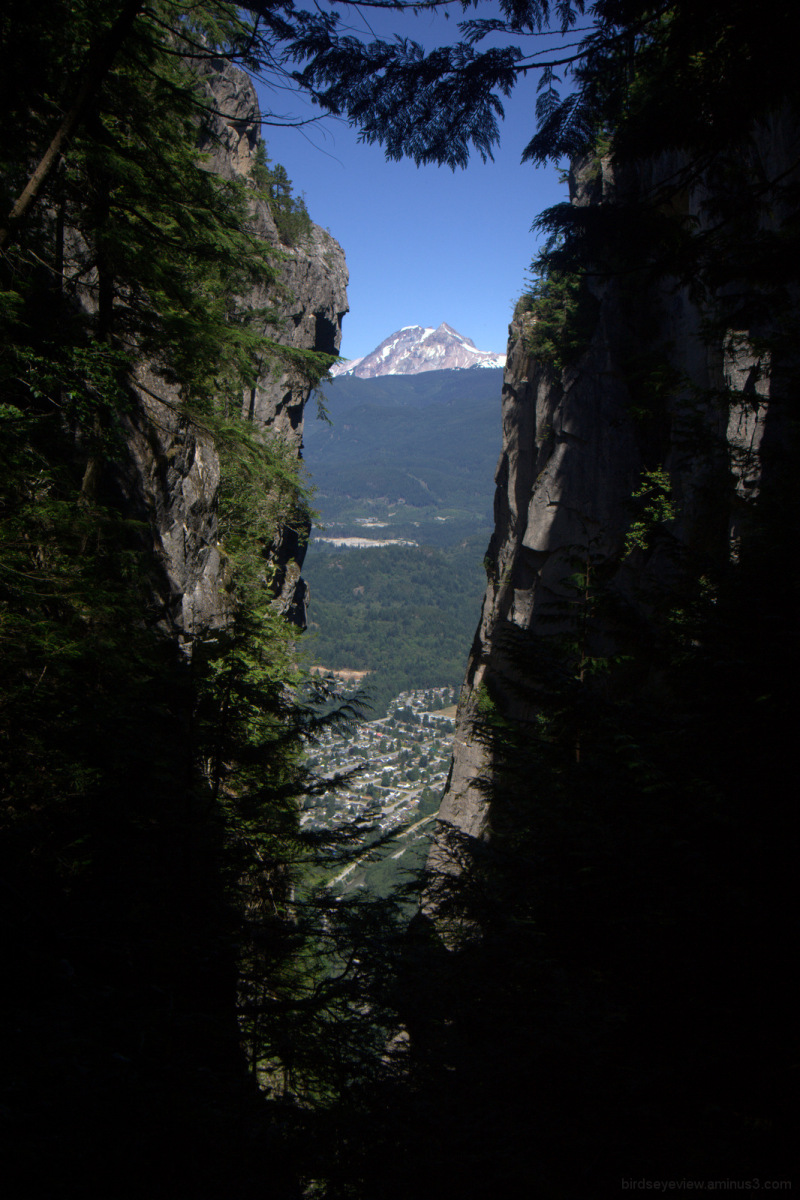 view from the chief