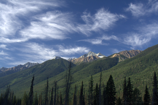 roadside mountains