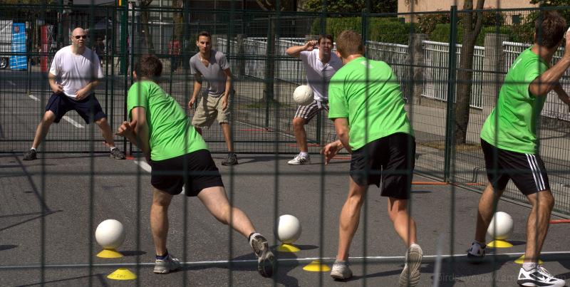 west end fest dodgeball