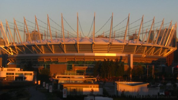 bc place in the morning
