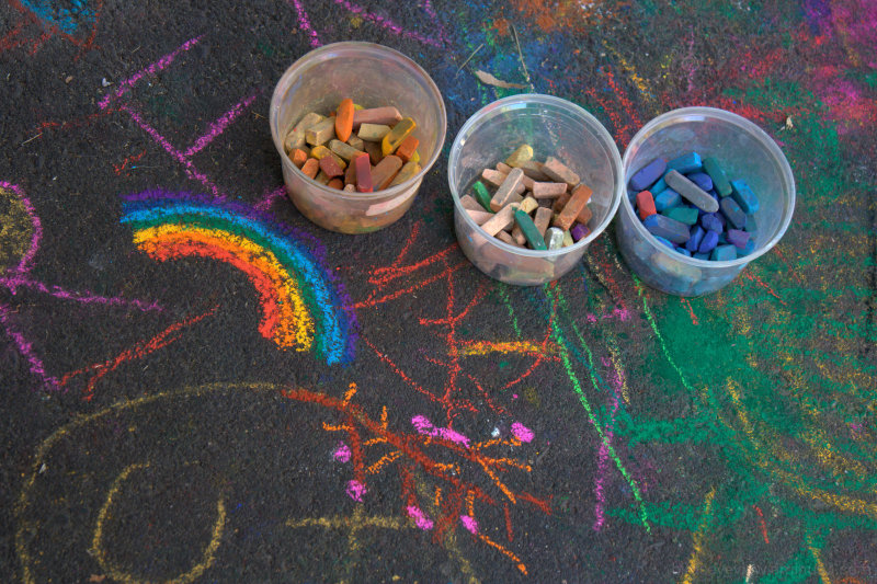 granville island chalk