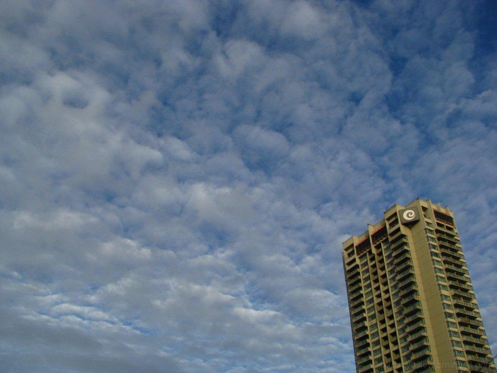 clear october skies