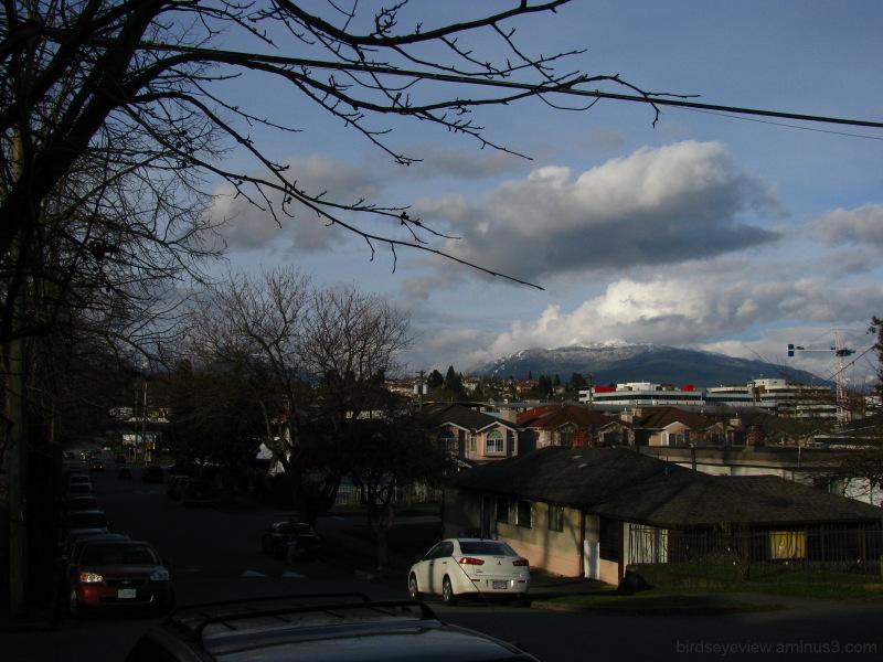 crisp winter view
