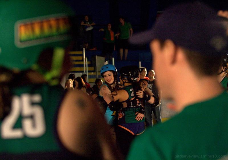 roller derby match end