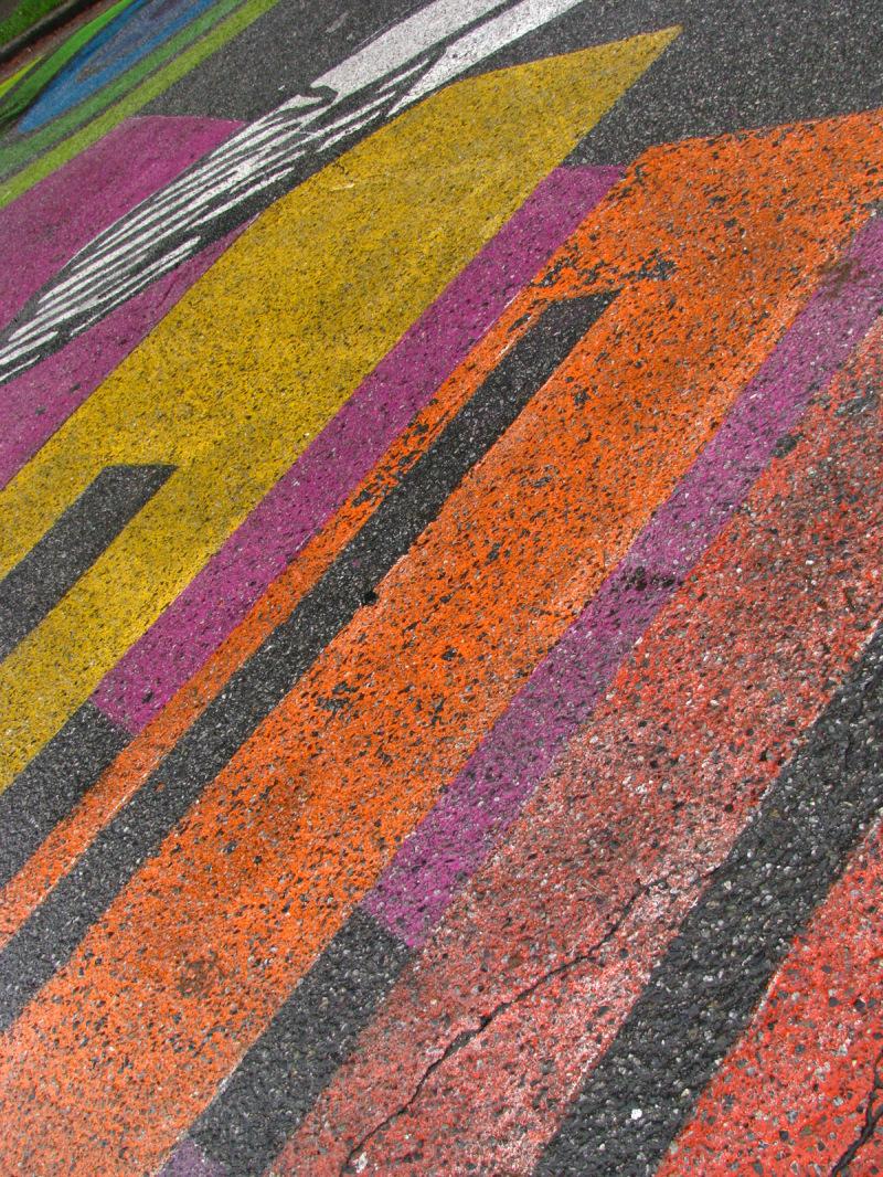 neighbourhood street painting