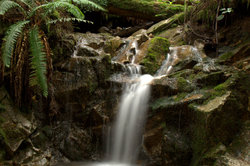 quiet north van waterfall
