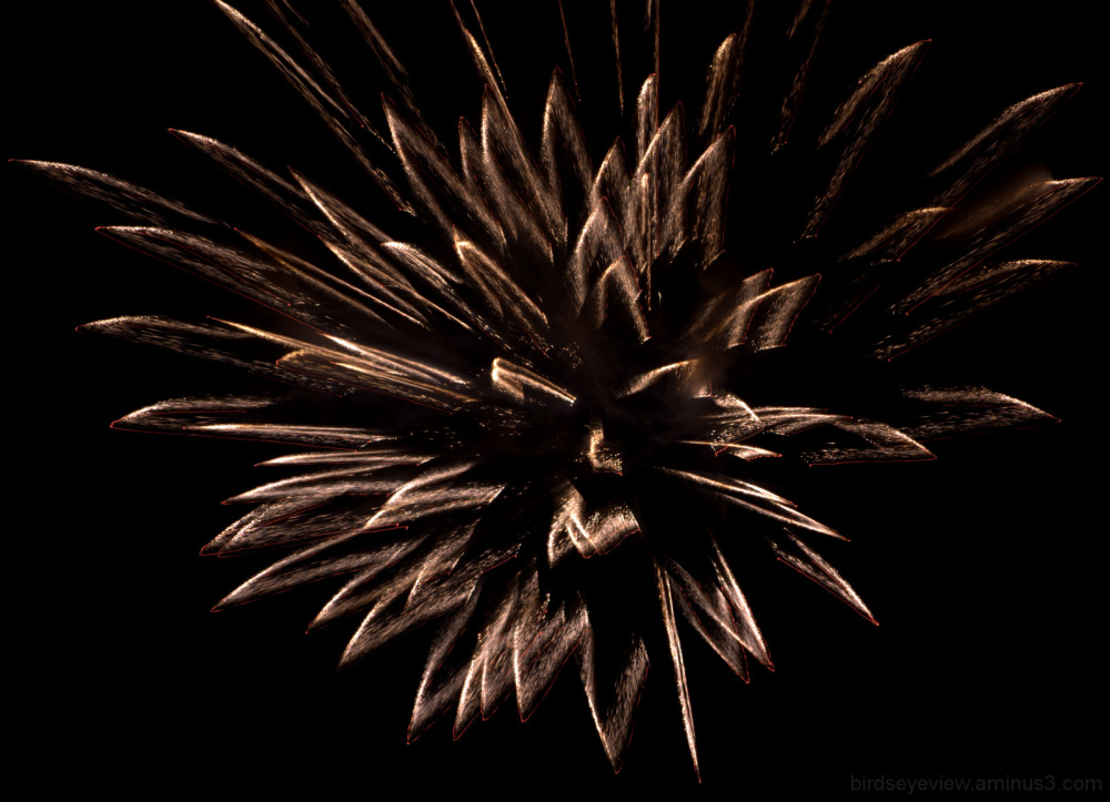 fireworks face
