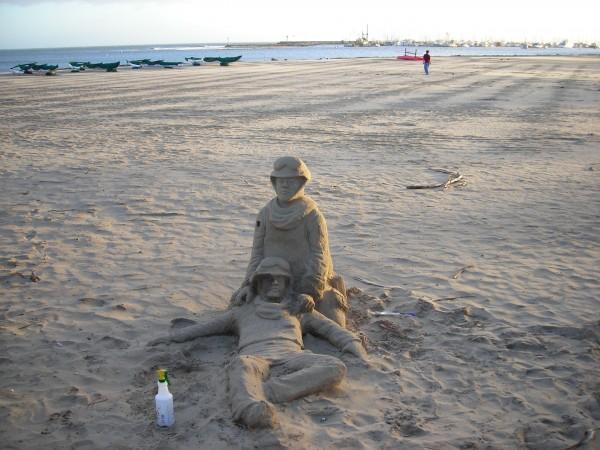 Sand Scupture