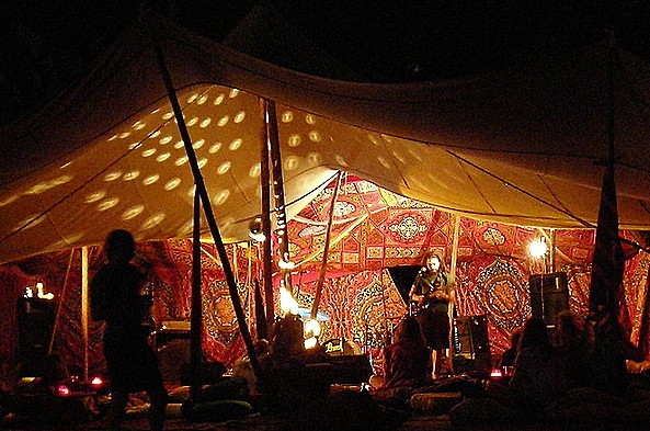 Late show at the Casbah at Trinity Tribal Stomp