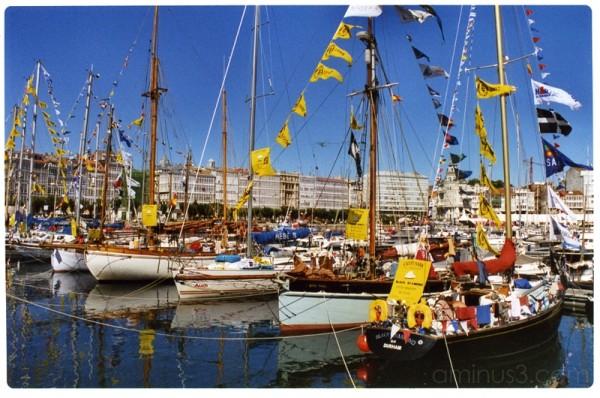 Cutty Sark 2002 in A Coruña