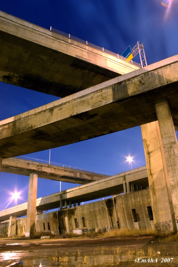 Autoroute Décarie Montreal échangeur Turcot