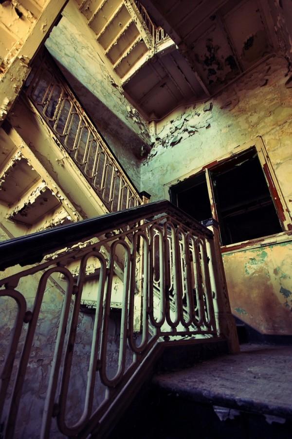 Vieil escalier
