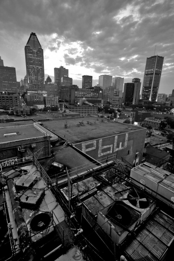 Montreal, from the rooftop