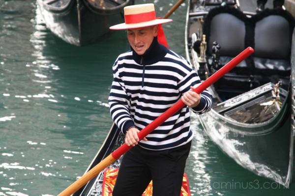 Goldolier, Venice (November 2007)