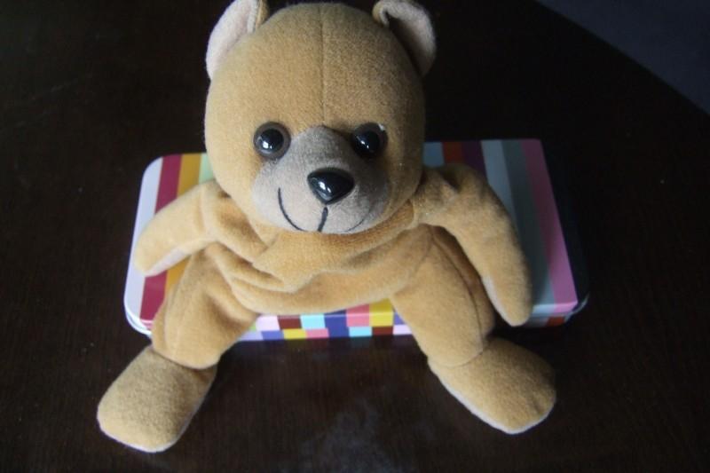 bear on a box