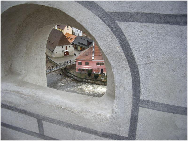 Through the ..... window