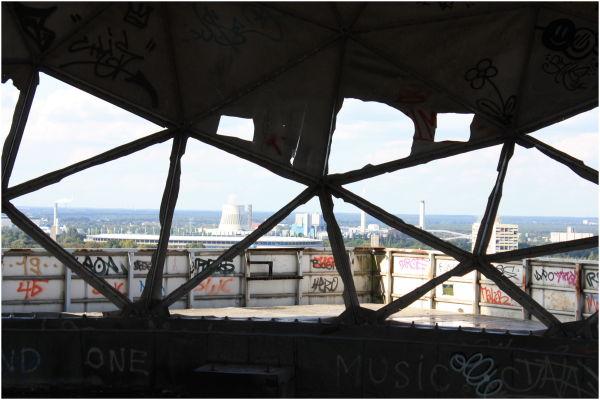 Through the triangle window