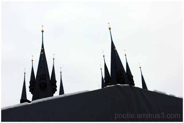 Spires that dare to dream
