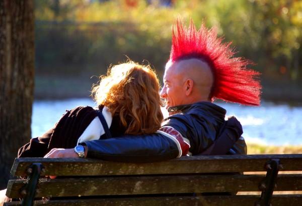 Couple at Hermann Park, Houston, TX