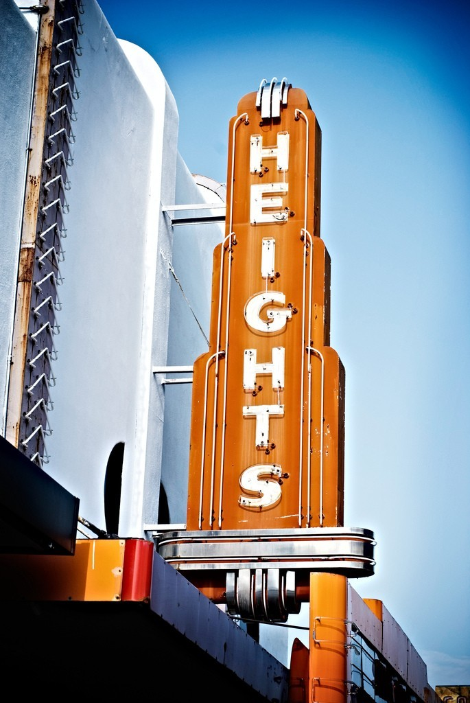 vintage theater sign