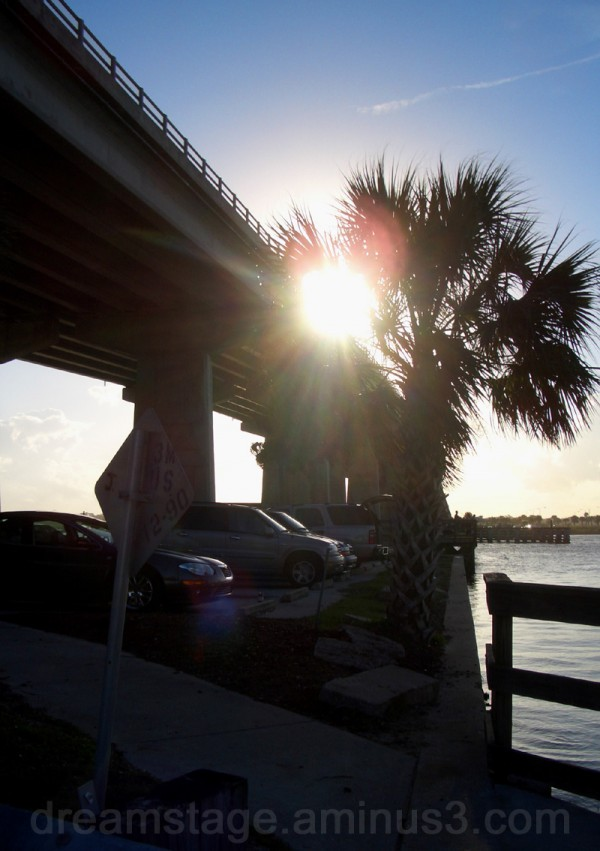 daytona causeway sun flare