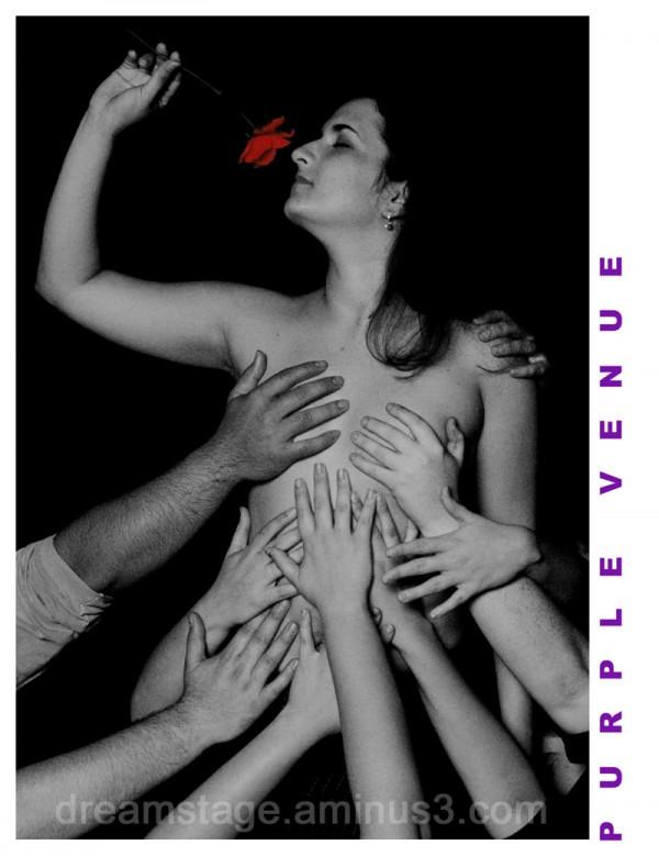 Publicity postcard, Orlando Fringe Festival 2003