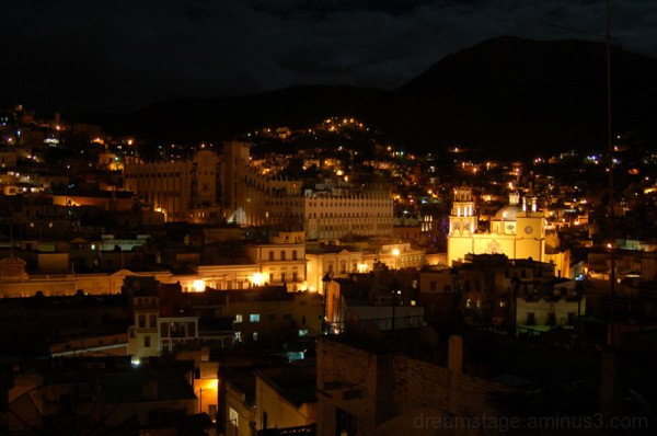 Guanajuato, Mexico at Night