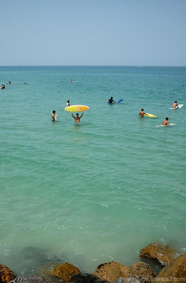 surfers in Daytona