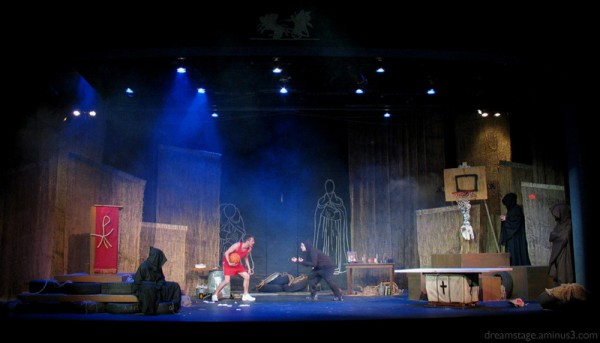Illuminati theatre production photo @ stetson