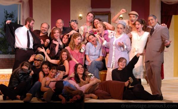 cast crew photo Broken Eggs Stetson University