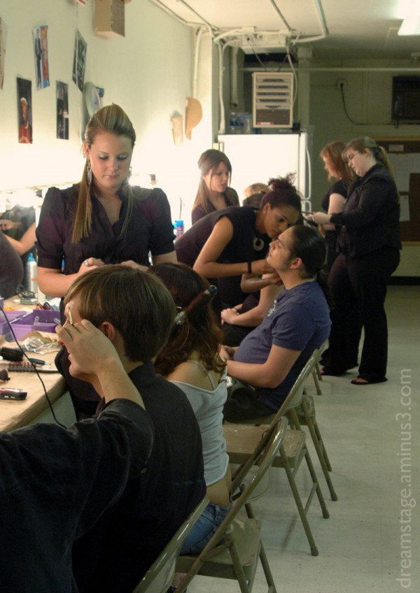 makeup room @ stetson university