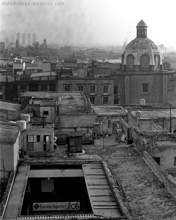 Mexico City urban landscape