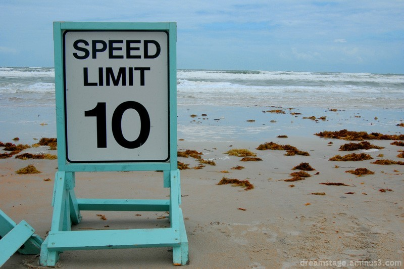 daytona beach speed limit