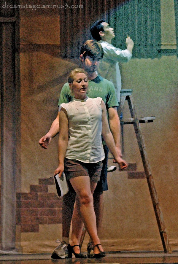 Photoshop art from rehearsal kiss me kate