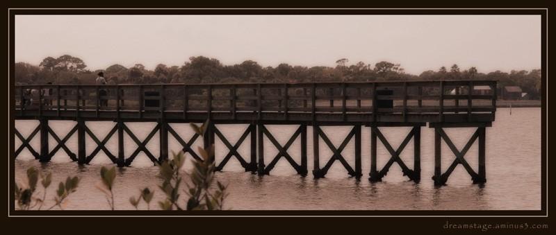 fishing pier halifax river daytona beach
