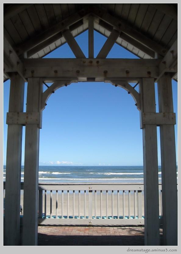 arcade at new smyrna beach, florida