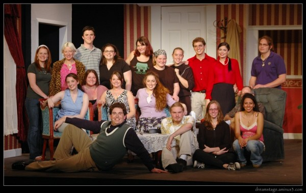 cast & crew shot for how the other half loves
