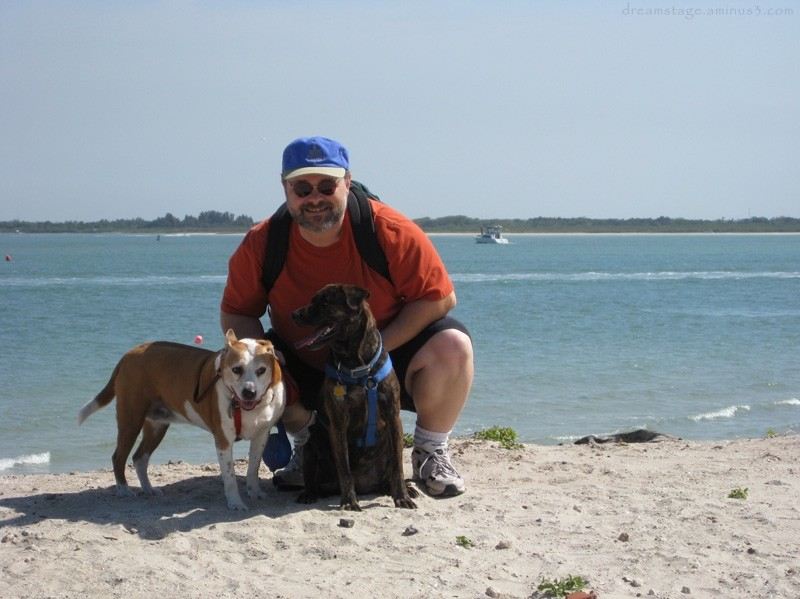 dogs and i in ponce inlet