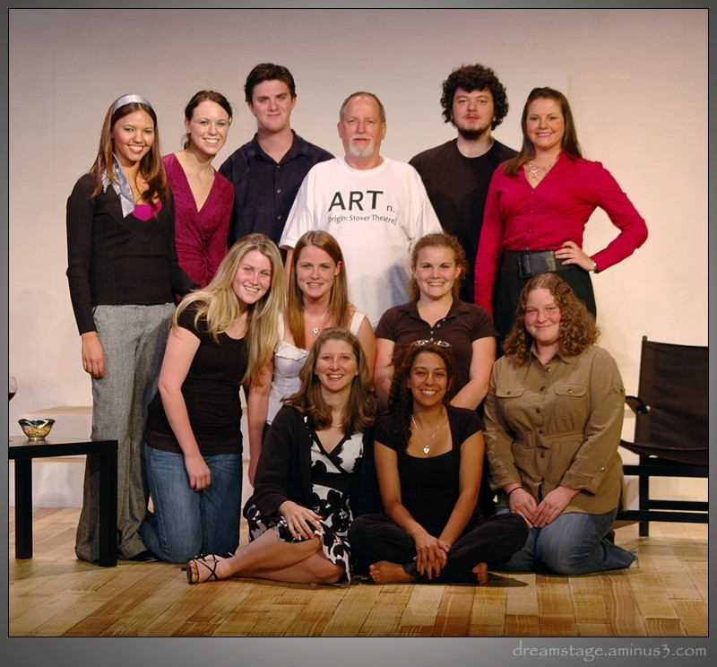 cast & crew shot for ART