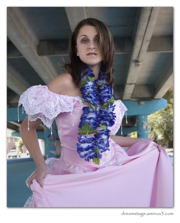 Michelle, under the bridge