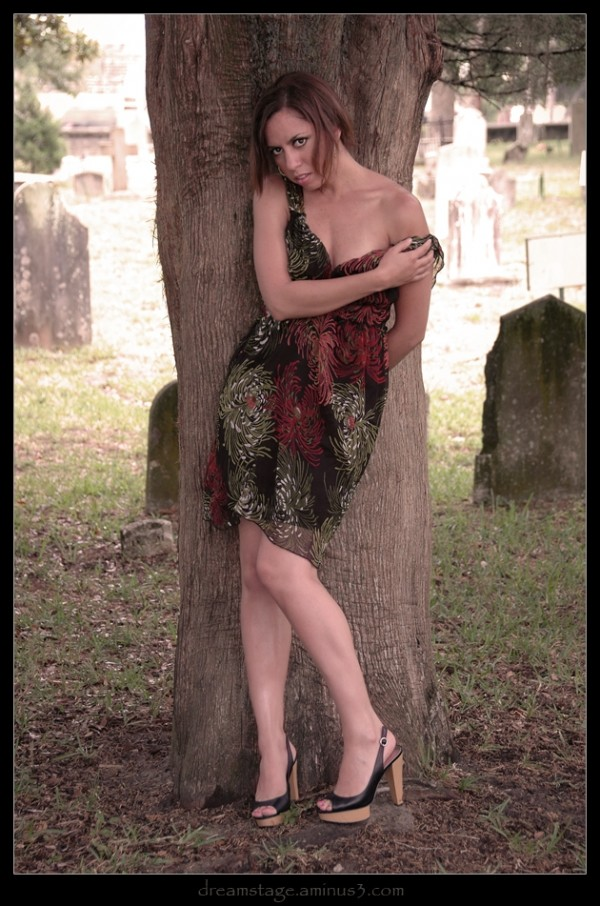 Under the cemetery tree