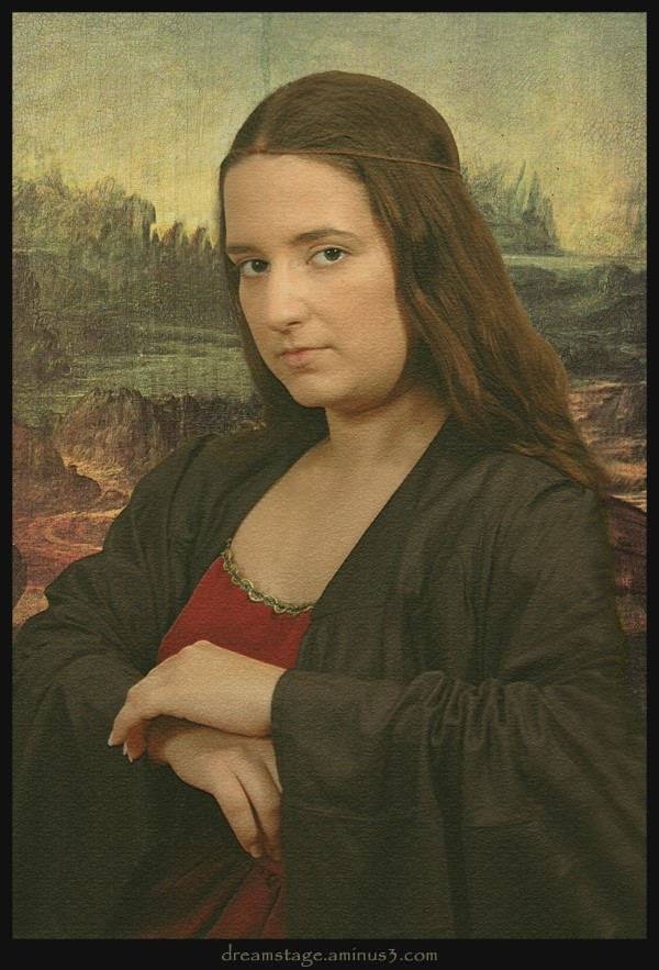 Vanessa's Mona Lisa