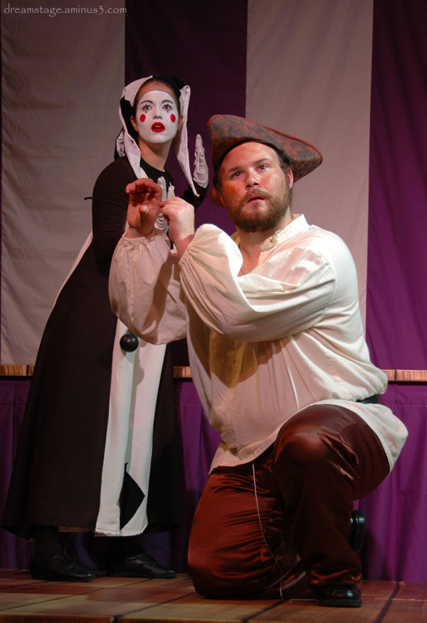 Wooing his Lady Mime