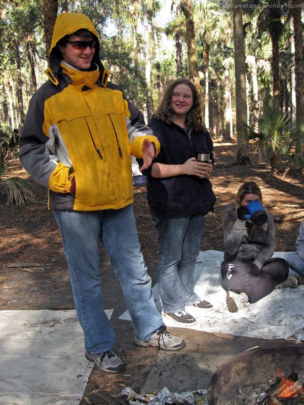 Camping November 2008 - 2